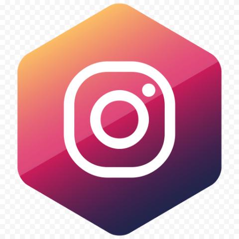 White Square Instagram Logo In Diamond Shape