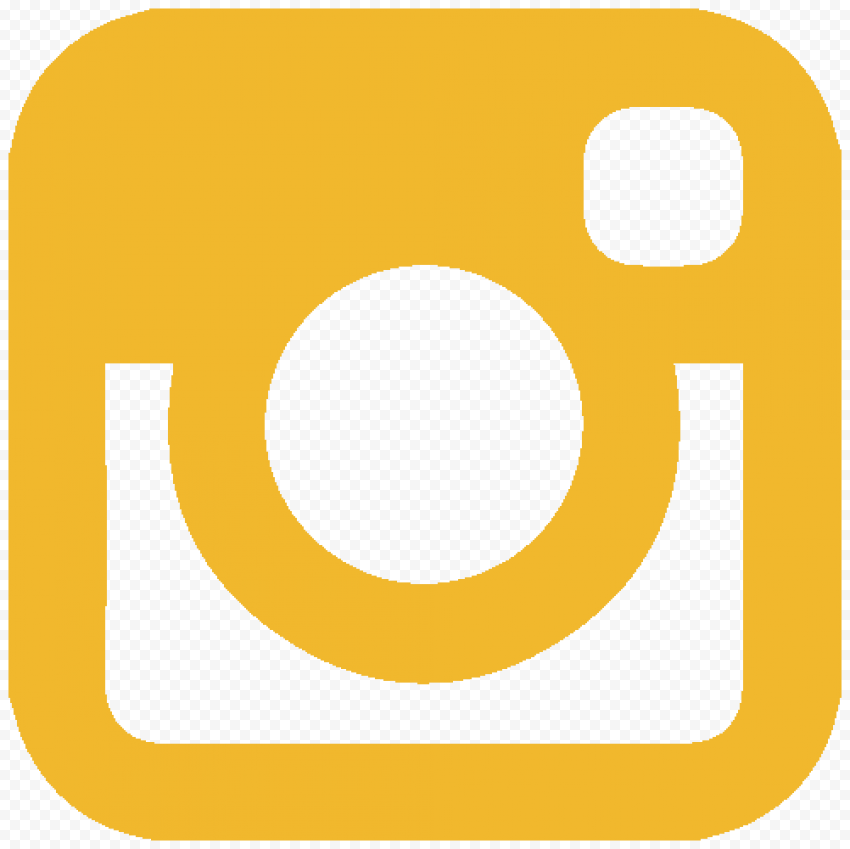 Yellow Old Instagram Logo Clipart