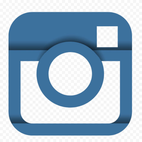 Graphic Blue Old Instagram Logo