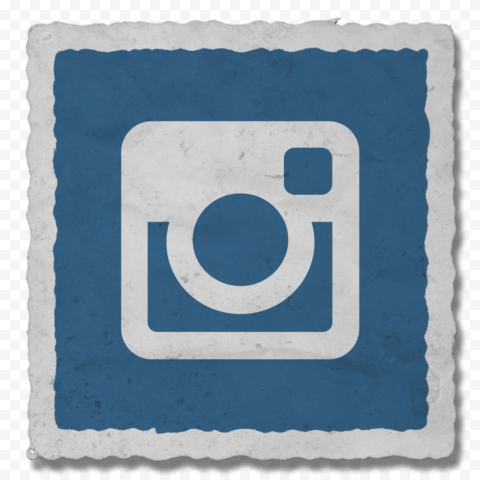 Blue Computer Icon Of Old Instagram Logo