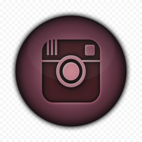 Brown Graphic Rond Icon Old Instagram Logo
