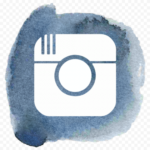 Old Instagram Logo Brush Watercolor Icon