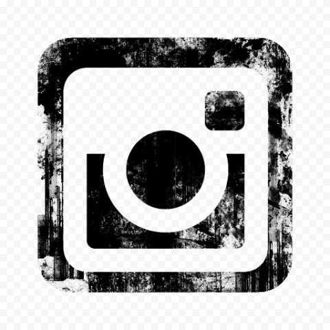 Stamp Of Old Instagram Logo Black Icon