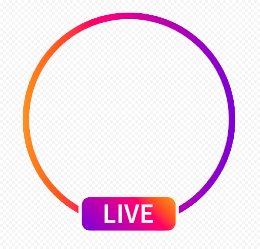 Round Instagram Live Streaming Social Media Icon Citypng Find & download free graphic resources for live. round instagram live streaming social