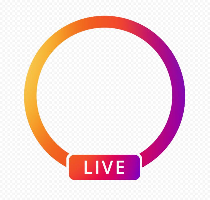 Instagram App Live Profile Circle Icon