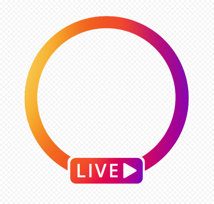Instagram App Live Profile Circle With Play Icon Citypng Find & download free graphic resources for live. instagram app live profile circle with