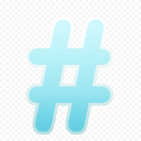 Twitter Colors Hashtag Icon Social Media