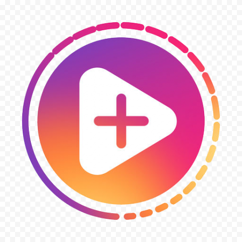 Instagram Share Story Stories Circle Button Icon