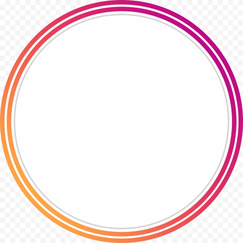 Round Instagram Stories Profile Ring Icon