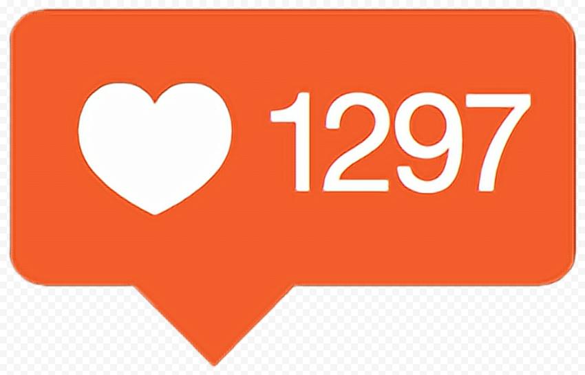 Old Instagram Like Orange Notification Icon
