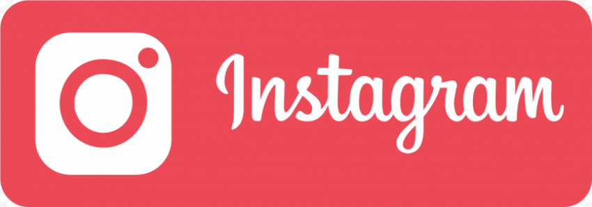 Instagram Red Button With White Logo