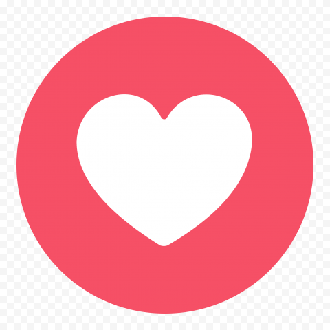 Hd Facebook Love Reaction Heart Icon