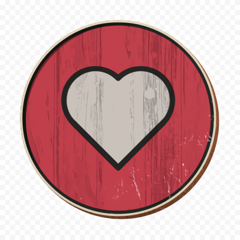 Vintage Facebook Like Heart Love Icon React