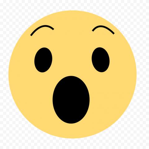 Wow Facebook Social Media React Emoji Icon