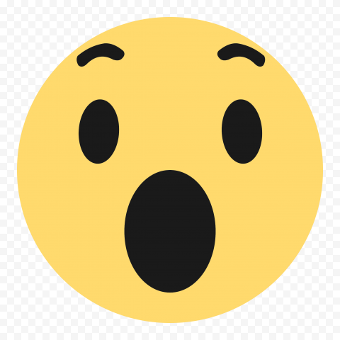 Wow Ouah Facebook Messenger Reaction Emoji HD