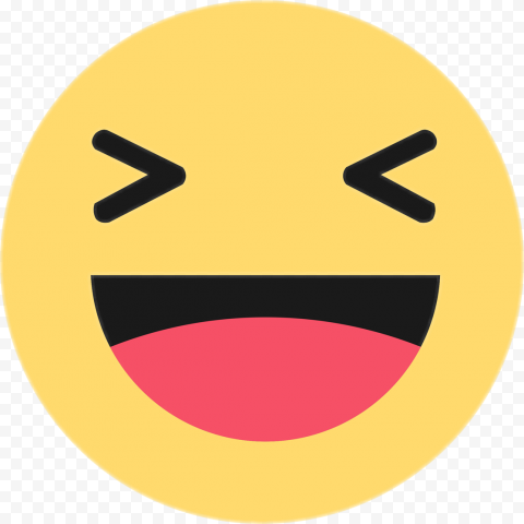 Haha Facebook Messenger React Face Like Emoji