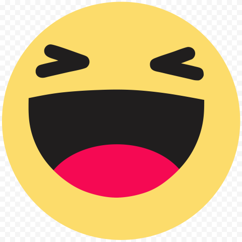 Haha Facebook Messenger Reaction Face Emoji HD