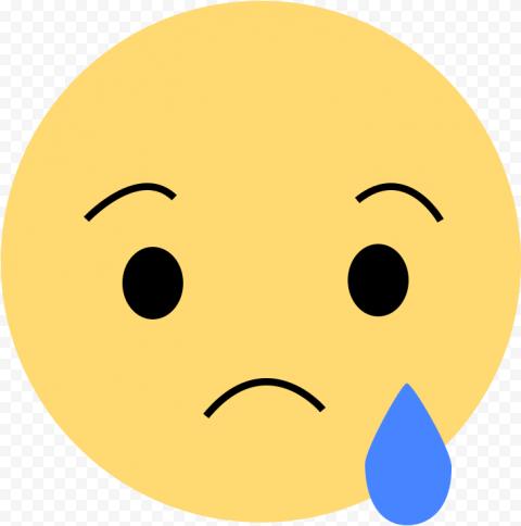 Sad Emoji Like Reaction Facebook Messenger