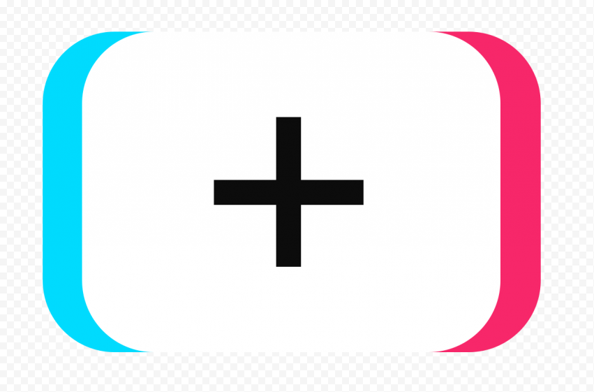 Tiktok App Add Video Button Icon