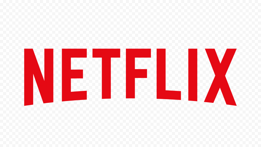 Red Large Netflix Logo Text