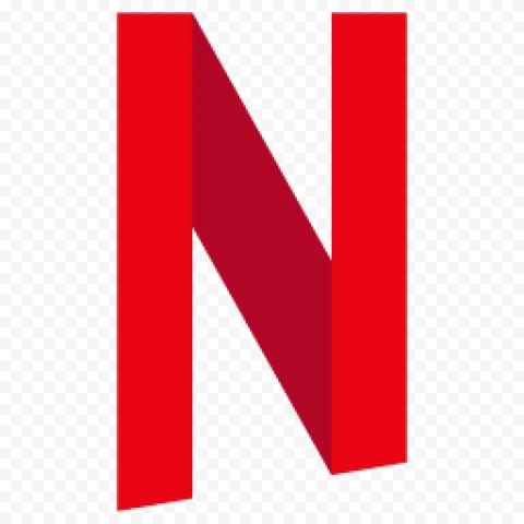 Red Netflix N Symbol Logo