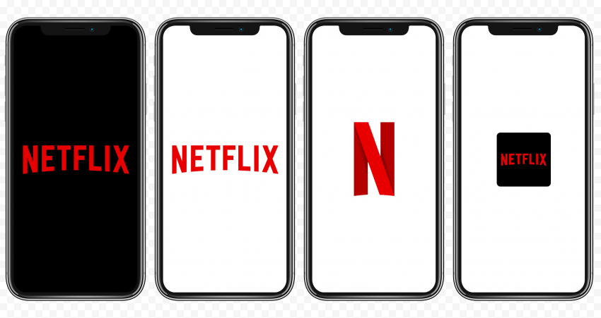 Group Of Iphone X Contains Netflix Logos
