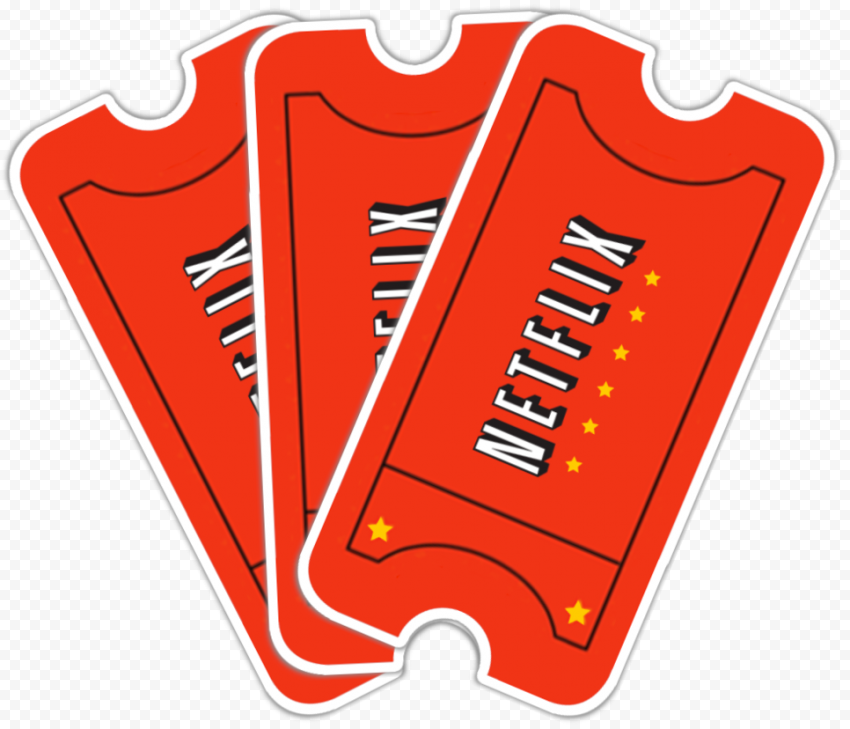Netflix Tickets Illustration