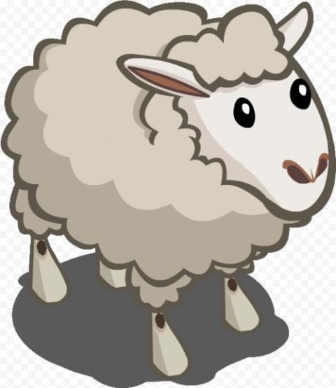 3D Cartoon Sheep