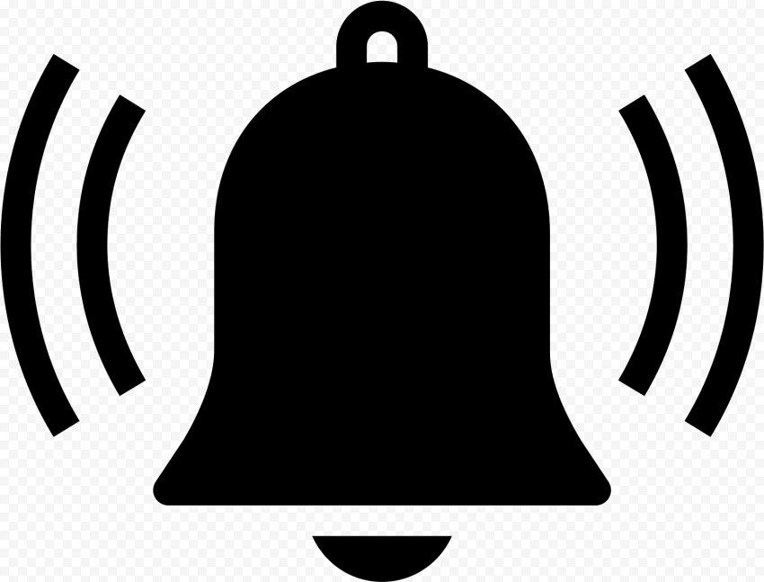 Black Bell Youtube Notification Sound Effect Icon