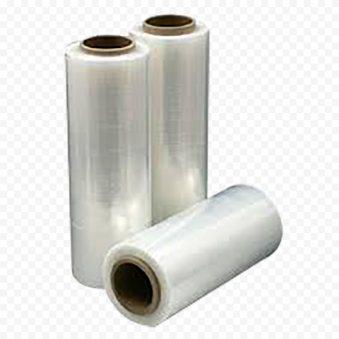 Group Of Stretch Shrink Wrap Cling Film Plastic