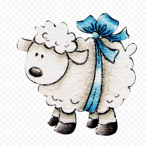 Cartoon Clipart Cute Sheep Stickers