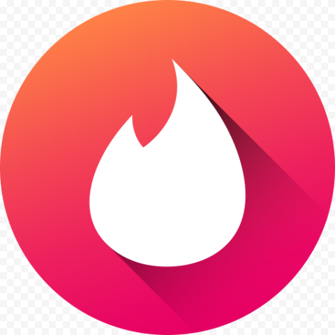 Android Round Tinder Logo