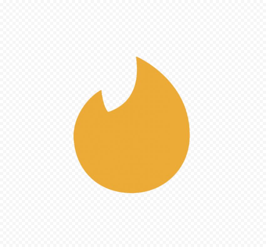 Tinder Gold Symbol Flame Sign