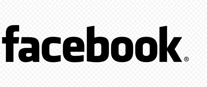 Black Facebook Logo HD