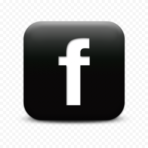 Black And White Square Facebook Fb Logo Icon