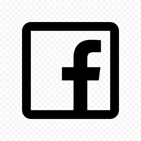Black Square Outline Facebook Icon Citypng Almost files can be used for commercial. black square outline facebook icon