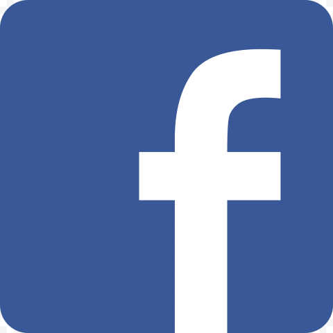 Hq Blue And White Square Facebook Fb Logo