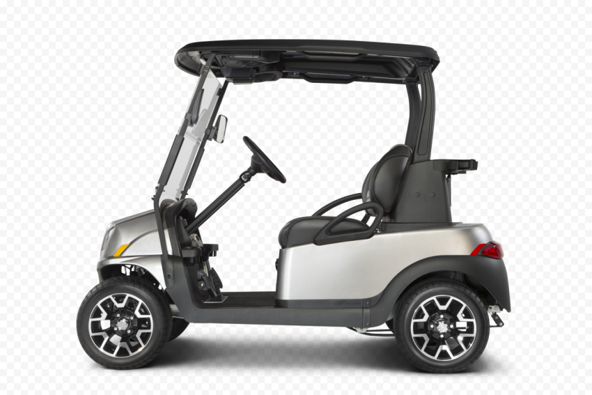 Golf Buggies Cart Car Vehicle Side View
