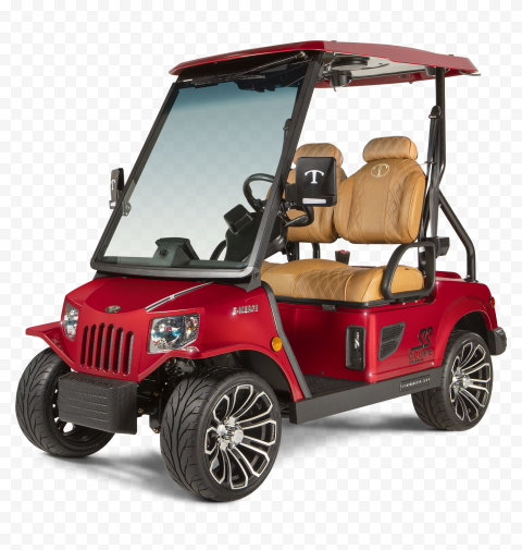 Red Luxury Tomberlin Golf Buggy Cart