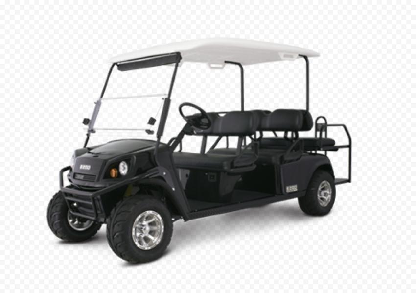 Black Cushman Golf Buggy Cart