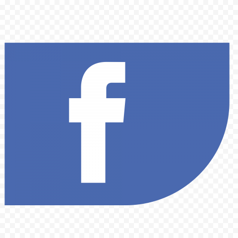 Facebook Ribbon Corner Icon Logo Social Media