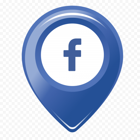 Facebook Fb Map Location Icon Logo