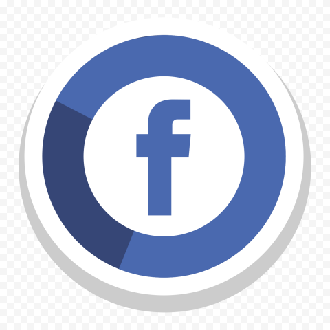 Facebook Icon Round Creative Modern Design