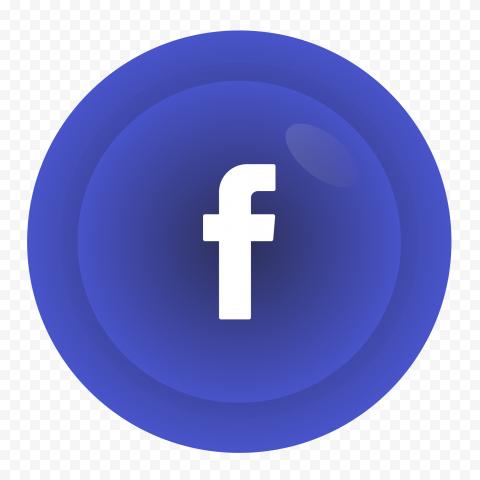 Facebook Gradient Circle Icon Logo