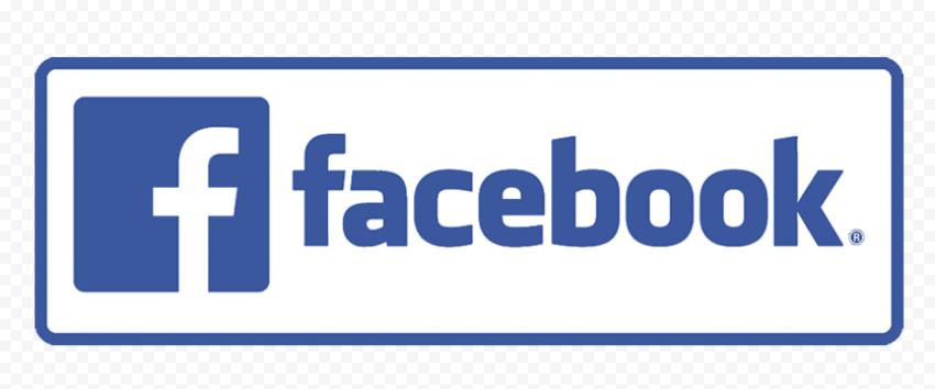 Horizontal Facebook Full Logo Symbol & Text