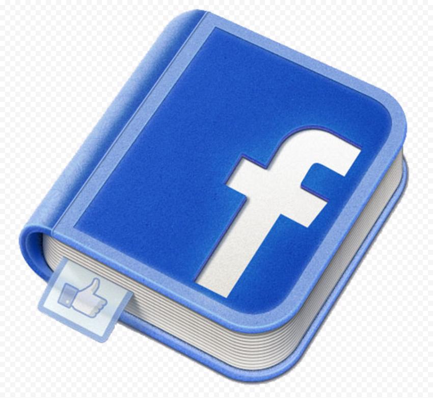 Facebook Book Icon Logo Illustration