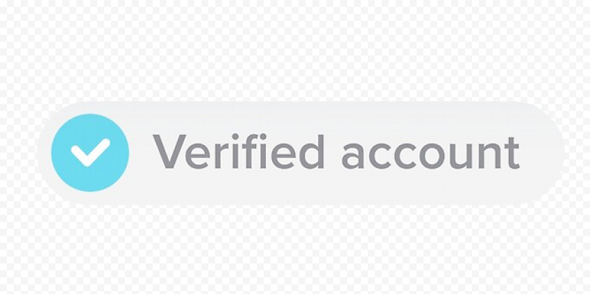 Tiktok Verified Account Badge Tick