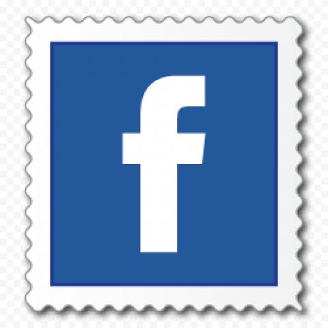 Square Facebook Stamp Shape Icon
