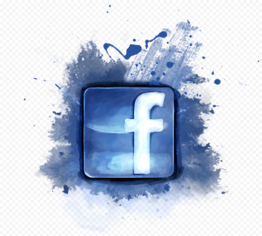 Watercolor Square Facebook Fb Logo Icon
