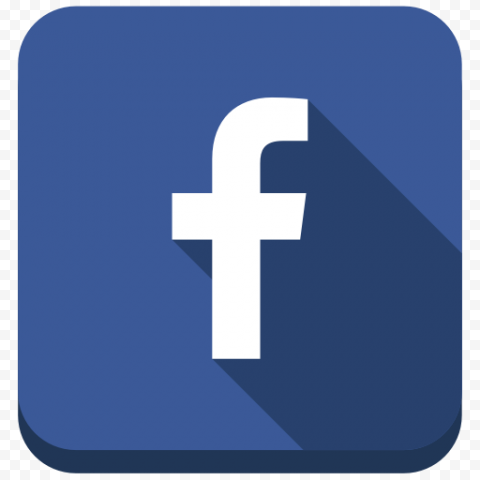 Square Flat Facebook Fb Logo Icon Button